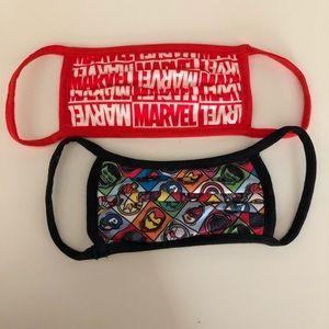 Disney Marvel Face Mask set